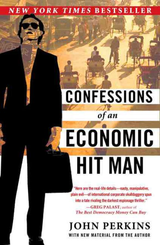 Book cover Confessions of an economic hit man
